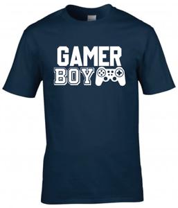GAMER BOY Kids Gamer T-Shirt Boys Gaming Tee Top