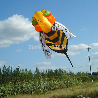 2.8m single line Stunt Hornet bee POWER Sport Kite outdoor toys Free shipping