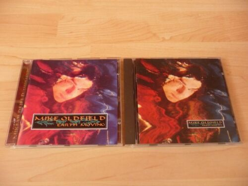 1 von 1 - CD Mike Oldfield - Earth Moving - 1989 incl. Innocent - Virgin Edition
