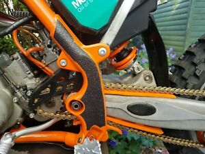 KTM SX85 GRIPPER FRAME GUARD PROTECTOR DECALS GRAPHICS STICKERS 2004 2012