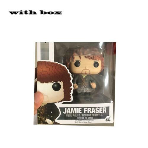 Funko Pop Outlander Jamie Fraser #251 Dougal Mackenz #252 Vinyl Model Figure Toy