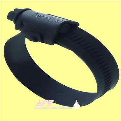 Mikalor BLACK W3 Stainless Steel Worm Drive Hose Clip SS Silicone Pipe Clamp AFS