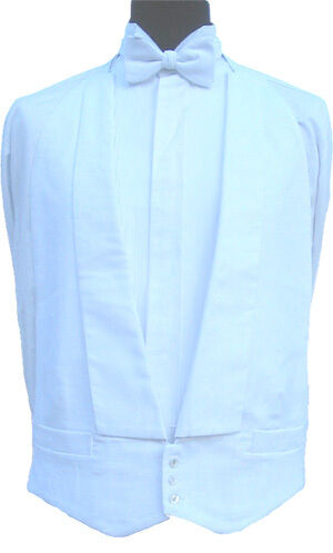 100% Cotton Weiß Marcella Waistcoat 40