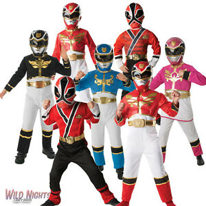 Image is loading FANCY-DRESS-COSTUME-BOYS-POWER-RANGERS-SAMURAI-RED-  sc 1 st  eBay & FANCY DRESS COSTUME ~ BOYS POWER RANGERS SAMURAI RED RANGER AGE 3 ...