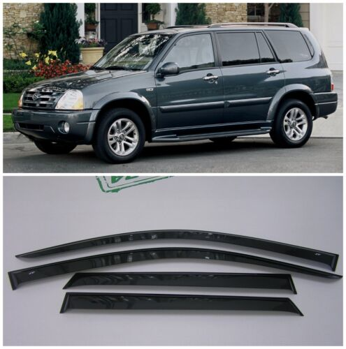For Suzuki Grand Vitara XL-7 99-06 Side Window Visors Rain Guard Vent Deflectors