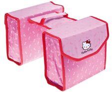 Fahrrad Kinder Doppelpacktasche Hello Kitty Gepäckträger-Tasche Neu