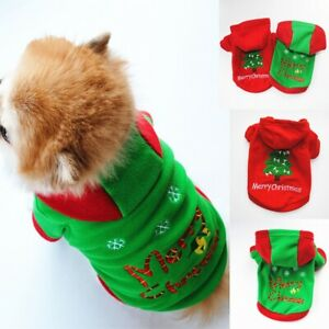 Christmas-Pet-Vest-Dog-Puppy-Hoodie-Sweater-Top-Xmas-Warm-Clothes-Costume-shirt