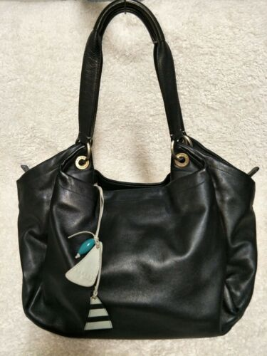 ️?RADLEY LONDON Black Leather Shoulder Bag