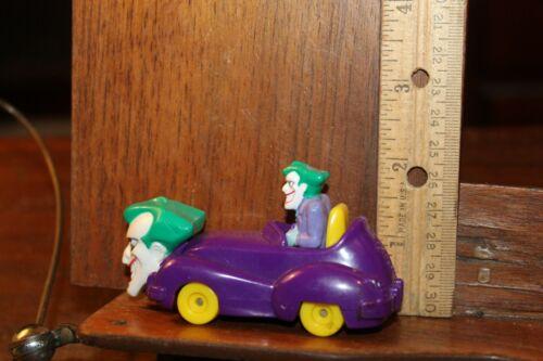 VINTAGE DC 1993 batman le joker voiture Jokermobile Série Animée