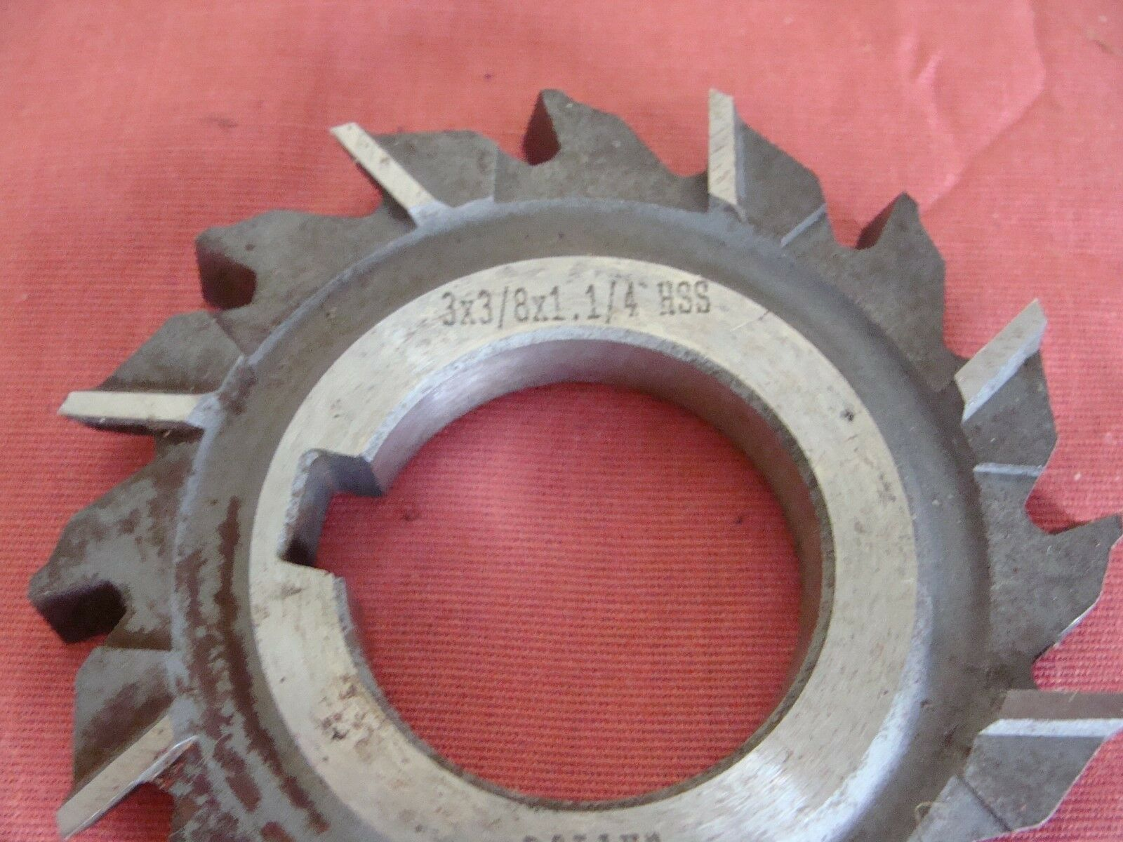 """Morse Side Milling Cutter 2-1//8/"""" x 3//8/"""" x 3//4/"""" HSS Staggered Tooth USA Made"""