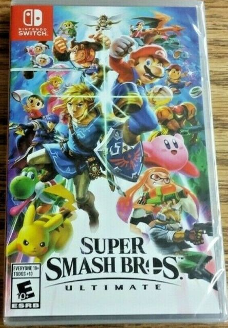 Super Smash Bros. Ultimate (Nintendo Switch, 2018) Brand New