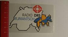 Aufkleber/Sticker: Radio DRS Rumantisch (29011710)
