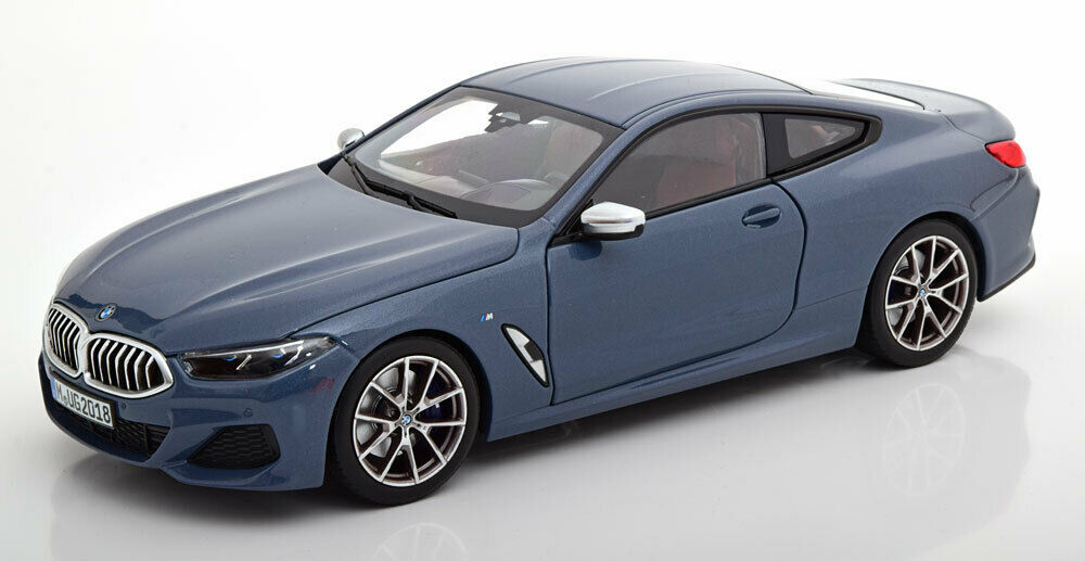 BMW 8 SERIES 850i M COUPE (G15) 2018 - 1 18 Norev - Diecast Model Car Collection