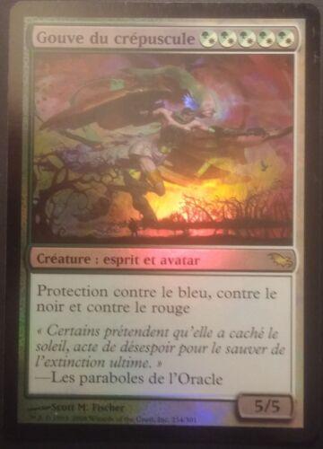 French Oversoul of Dusk Gouve du crépuscule VF PREMIUM Magic mtg FOIL