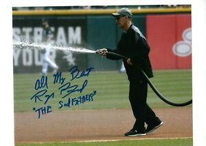 ROGER-BOSSARD-AUTOGRAPHED-8X10-PHOTO-SIGNED-W-COA-CHICAGO-WHITE-SOX-034-SODFATHER-034