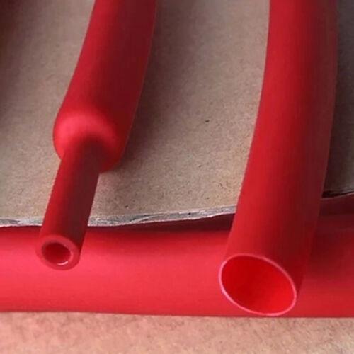 Φ1.6-Φ30mm Rot Schrumpfschläuche Tube 3:1 An der Innenwand ist Klebstoff