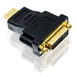 Adapter-DVI-D-Buchse-24-1-auf-HDMI-Stecker-19-pin