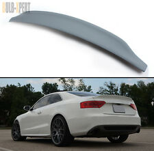 09-2016 AUDI A5 S5 RS CAT STYLE POLYURETHANE PU PRIMERED TRUNK LID SPOILER WING