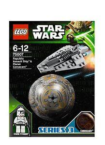 LEGO-Star-Wars-75007-Republic-Assault-Ship-Clone-Trooper-Coruscant-Planet-Kugel