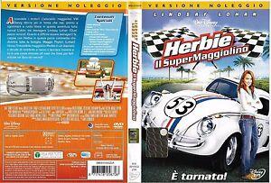 HERBIE-IL-SUPER-MAGGIOLINO-2005-dvd-ex-noleggio