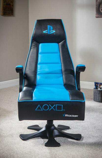 X Rocker Infiniti PlayStation Gaming Stuhl SchwarzBlau (778301)