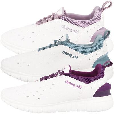 Chung Shi Duflex Trainer Schuhe Sneaker Laufschuhe white indigo purple 8800200