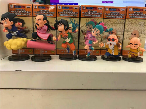 Set of 6 Dragon Ball Z DBZ Super WCF World Collectable 30th Vol.1 Figure In Box