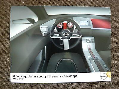 Radient Nissan Qashqai Konzeptfahrzeug Presse-foto Werk-foto Pressphoto 03/2004 n0021 ZuverläSsige Leistung