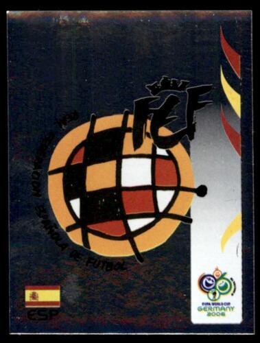 Panini WORLD CUP 2006-equipo emblema España no 531