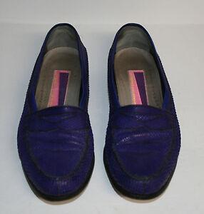 b082c00b2982c Details about Men's Bennis & Edwards 80s Purple/Electric Blue Snakeskin  Shoes