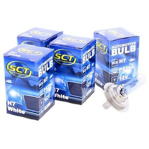 4x SCT H7 White Plasma Halogenlampe Leuchte 12V 55W Glühlampe LED Xenon