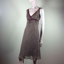 Philosophy DI ALBERTA FERRETTI donna vestito 38 M chiffon seta vintage dress robe
