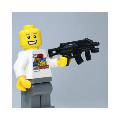 BrickArms MG42 w//Ammo Drum Black BRI427