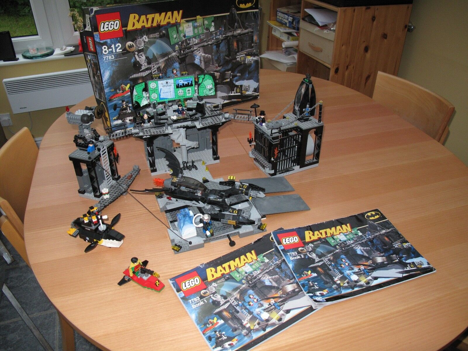 LEGO Batman The Penguin and Mr. Freeze's Invasion (7783) (Used + Good Condition)