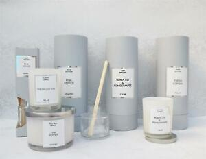 Candlelight-Luxury-Scented-Candle-Glass-Pot-Reed-Diffuser-Home-Fragrance-Gift