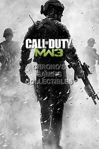 Rgc Huge Poster Call Of Duty Modern Warfare 3 Ps3 Xbox 360
