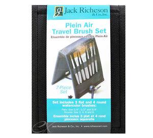 Richeson Plein Air Travel Oil Brush Set