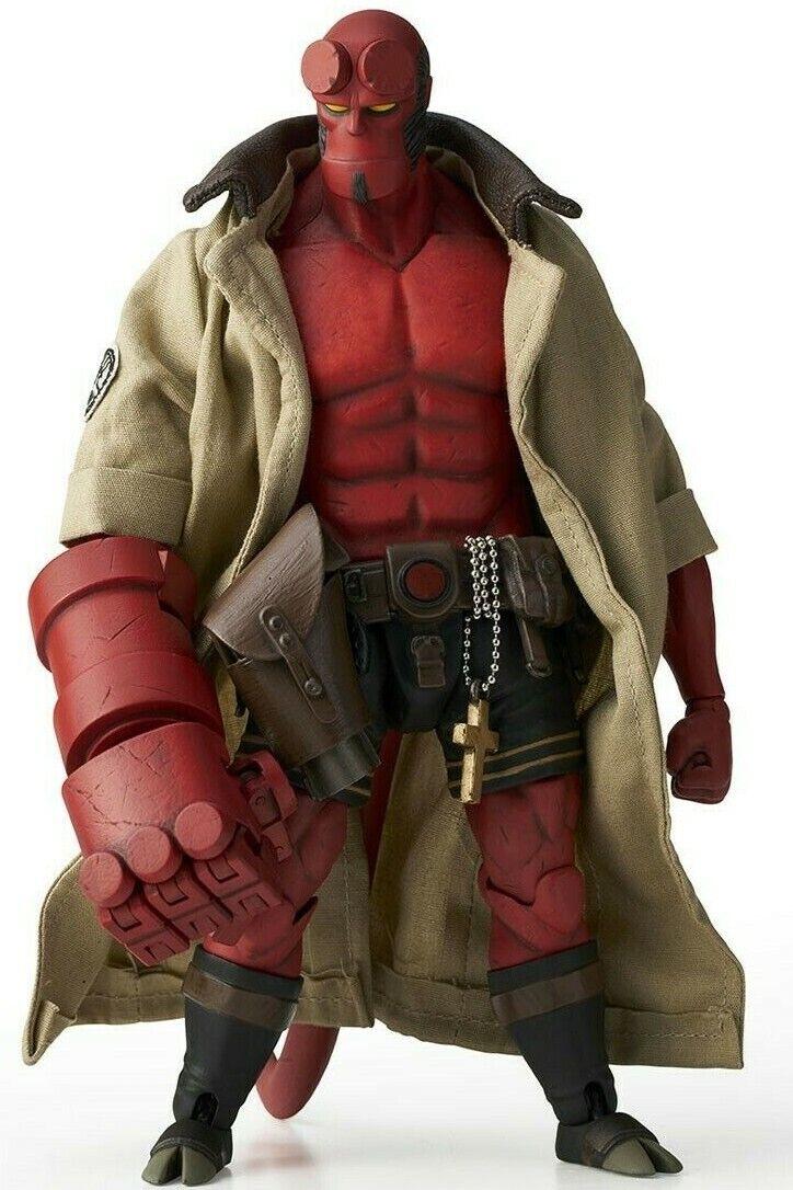 Hellboy Mike Mignola 1 12 Action Figure 19cm 1000TOYS Japan Dark Horse Comics