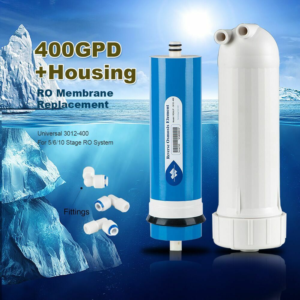 400 400 400 GPD Reverse Osmosis Membrane Water Filter RO System Replacement for 2 Years 23c917