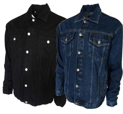 Trucker Mens S Du Au 5xl Vestes Noir Style Blanc Jeans Et iPkXZuwOT