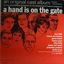 """A HAND IS ON THE GATE - ROSCOE LEE BROWNE 12"""" LP  (Q552)"""