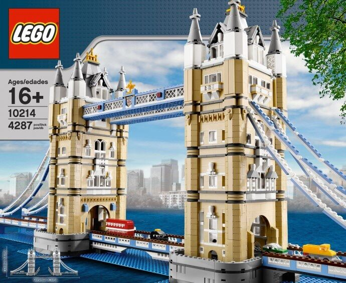 LEGO LONDON TOWER BRIDGE 10214 CREATOR  MISB, BRAND NEW, SEALED FREE SHIPPING