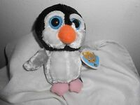The Petting Zoo Plush 7 Bright Big Eyes Penguin Lowry Park Zoo Tampa 1994