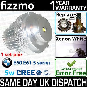 FIZZMO BMW e60 e61 5 series LCI 5w using CREE LED ANGEL EYE RING 63127187952