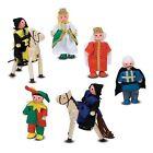 Melissa & Doug 285 Castle Wooden Figure Set