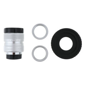 25mm-f-1-4-C-Mount-CCTV-Lens-for-Fuji-FX-w-C-Mount-Adapter-2-Macro-Rings
