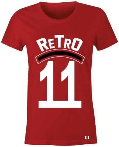 """/""""Retro 11/"""" Women//Juniors T-Shirt to Match Retro /""""Win Like 96/"""" 11/'s"""