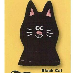 HALLOWEEN DR. DANIELS BLACK CAT WITH CATNIP
