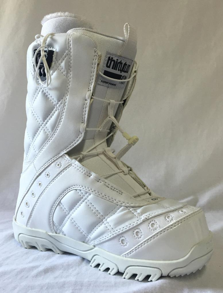 Thirty Two Women's Prion FT Snowboard Boots color White Size US 6 NEW
