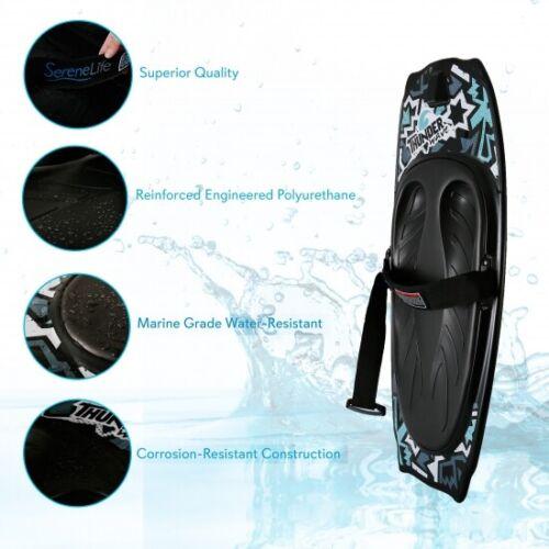 "Serene-Life Watersports Thunder Wave 50/"" Kneeboard w// Integrated Hook Knee Board"